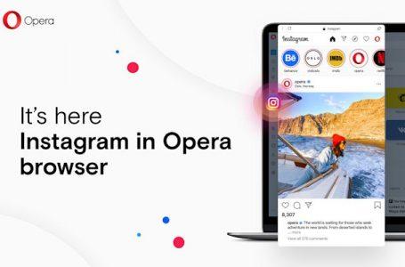 Der Desktop-Browser von Opera bietet jetzt schnellen Zugriff auf Instagram